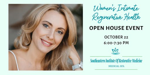 "FREE ""Women's Regenerative Health"" Open House Event"