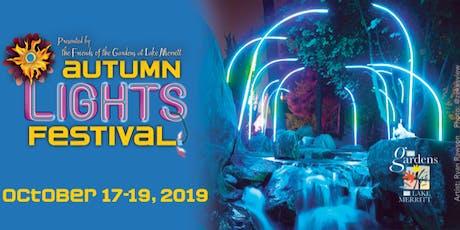 8th Annual Autumn Lights Festival tickets