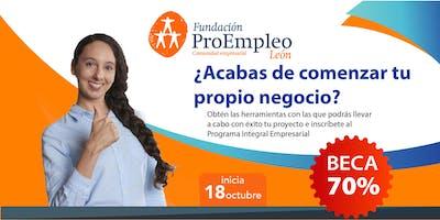 Programa Integral Empresarial MAESTRÍA en OCTUBRE