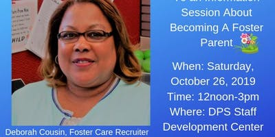 Information Session on Becoming A Foster Parent