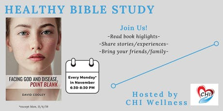 Healthy Bible Study: November Mondays tickets