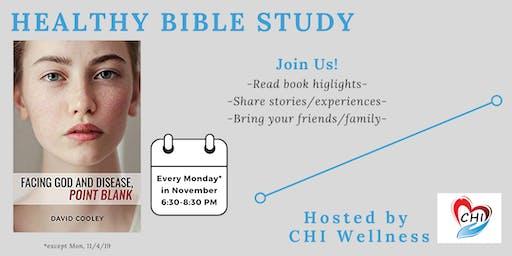 Healthy Bible Study: November Mondays