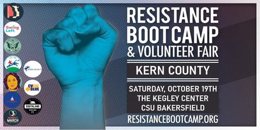 Resistance Boot Camp & Volunteer Fair - Kern County