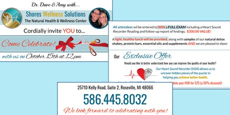 Shores Wellness Solutions Ribbon Cutting & Open House tickets
