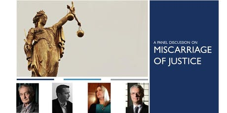 Miscarriage of Justice Panel tickets