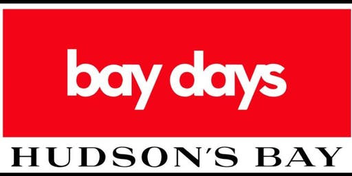 Hudson's Bay Southcentre Bay Days Shopping Event
