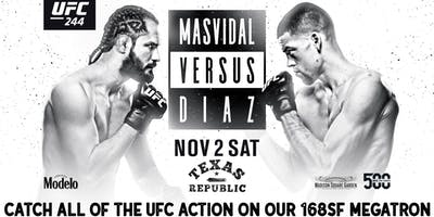 UFC  244 Live at Texas Republic