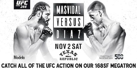 UFC  244 Live at Texas Republic tickets