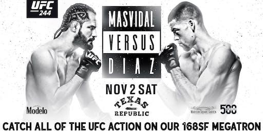 UFC  244 Live at Texas Republic