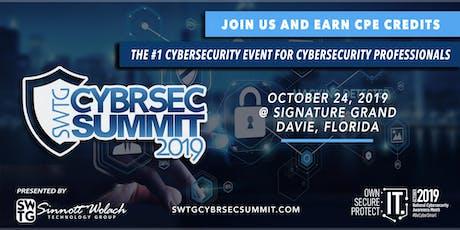SWTG CYBRSEC SUMMIT2019 tickets