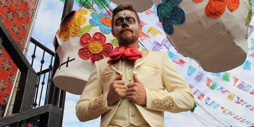 Día de Muertos Tijuana cemetery trek