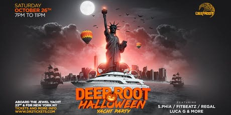 Deep Root Halloween '19 Yacht Party tickets