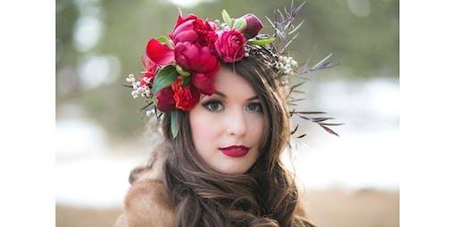 Floral Crown Design 101  (2019-11-13 starts at 6:00 PM)