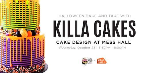 KILLA CAKES HALLOWEEN BAKE & TAKE