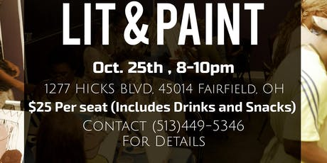 LlT and PAINT x Oct.25th tickets