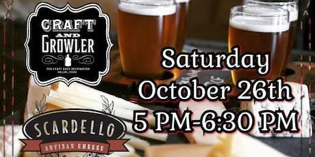 Craft Beer & Cheese Pairing tickets