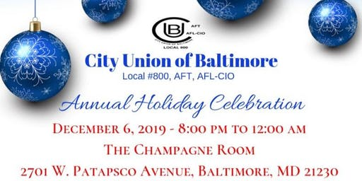 City Union Of Baltimore   Annual Holiday Celebration