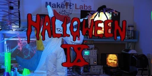 MakeIt Labs 9th Annual Halloween Party