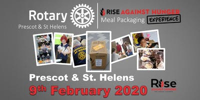 Prescot & St Helens Rotary - Rise Against Hunger, Meal Packing Experience