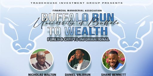 Buffalo Run to Wealth: Forex & Crypto Informational