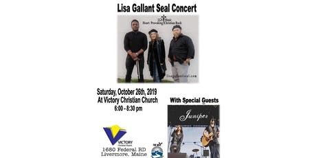 Concert with Lisa Gallant Seal and special guest Juniper tickets