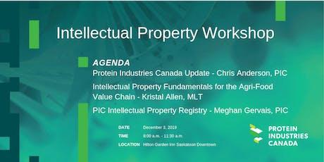 Intellectual Property Workshop - Saskatoon tickets