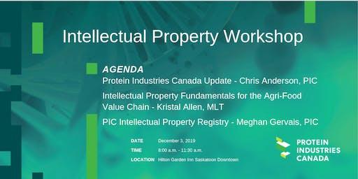 Intellectual Property Workshop - Saskatoon