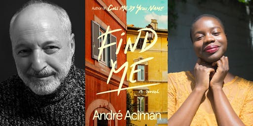 André Aciman: Find Me @ First Unitarian Congregational Society