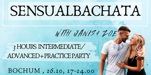 Sensualbachata Bochum - 3 hours Workshop + Practiceparty