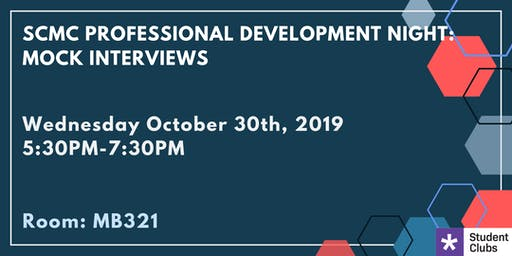 SAIT SCMC Professional Development Night: Mock Interviews