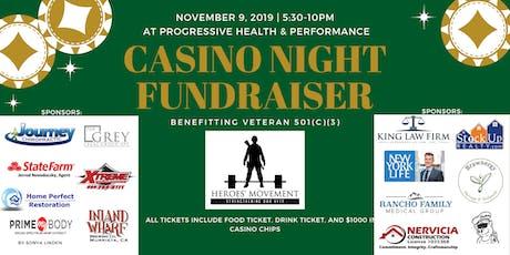 Heroes' Movement Casino Night tickets