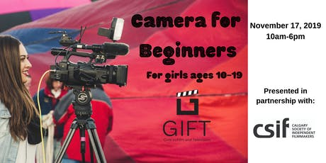 Camera for Beginners tickets