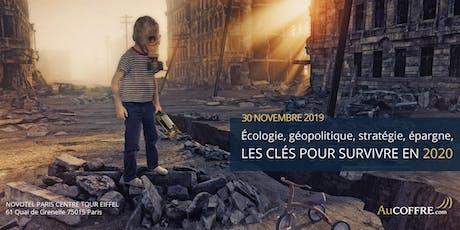 Conférences : Les clés pour survivre en 2020 billets