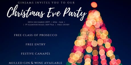 Ginjams Christmas Eve Party 2019 tickets