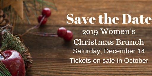 2019 Women's Christmas Brunch