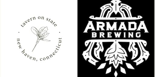 Armada Beer Dinner @ Tavern on State