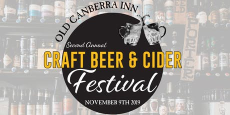 Old Canberra Inn Craft Beer & Cider Festival 2019 tickets