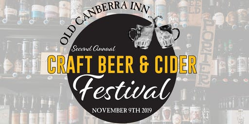 Old Canberra Inn Craft Beer & Cider Festival 2019