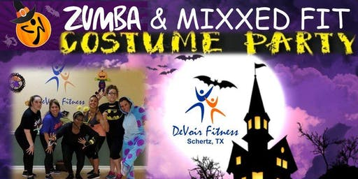 Zumba & MixxedFit Costume Party