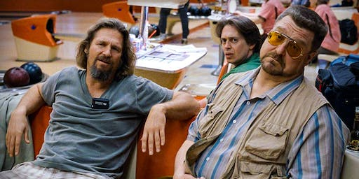 The Big Lebowski (1998) w. Dos Lobos (Misisipi Mike Wolf & Actual Wolf)
