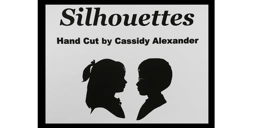 Hand-Cut Silhouettes by Cassidy Alexander