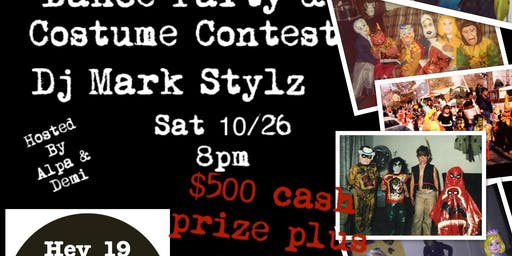Halloween Bash &  $500 Costume Contest
