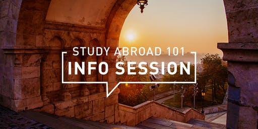 Study Abroad 101 Info Session: Surrey Campus