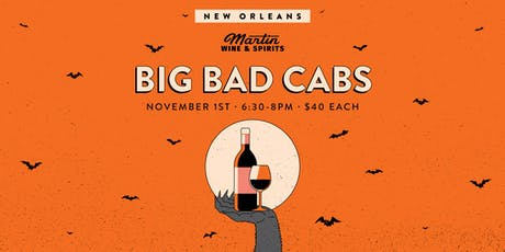 Big Bad Cabs: New Orleans tickets