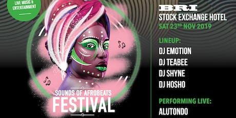 Sounds of AfroBeats Festival Brisbane - Saturday N tickets