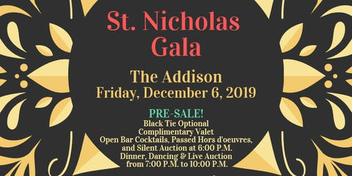 The Feast of St. Nicholas Gala at The Addison