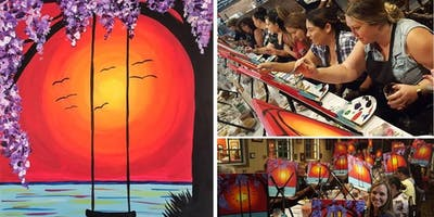 Sunset Swing Painting Event at Mimi's Bistro & Bakery