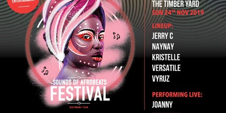 Sounds of AfroBeats Festival Melbourne - Sunday No tickets