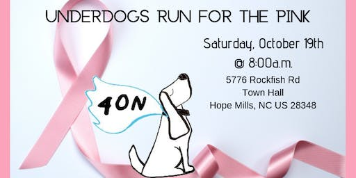 Underdogs for the Pink 5k