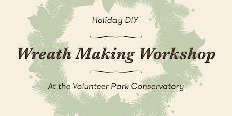 Holiday DIY Wreath Workshop tickets